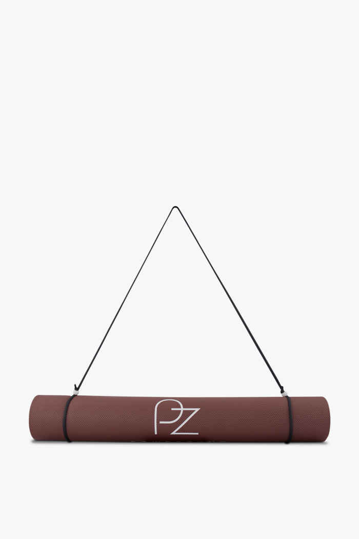 Powerzone Pro 3 mm Yogamatte Farbe Braun 2