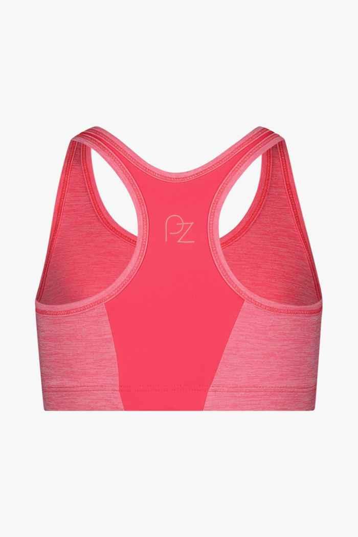 Powerzone reggiseno sportivo bambina Colore Rosa intenso 2
