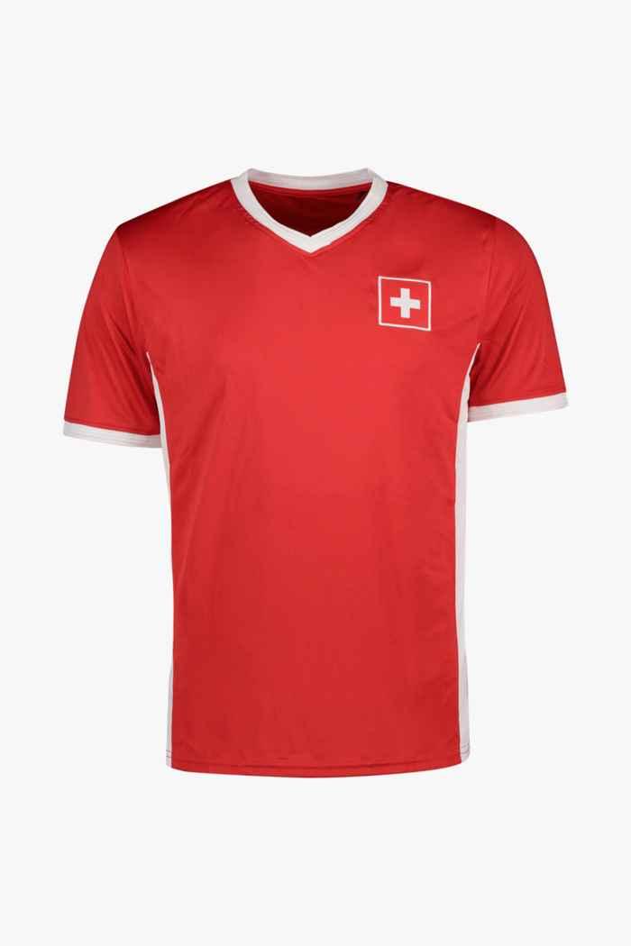 Powerzone Schweiz Fan Herren T-Shirt 1