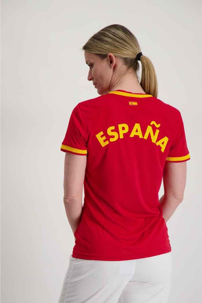 Powerzone Spanien Fan Damen T-Shirt 2