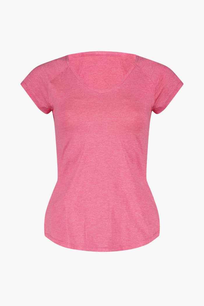 Powerzone t-shirt femmes Couleur Rose vif 1