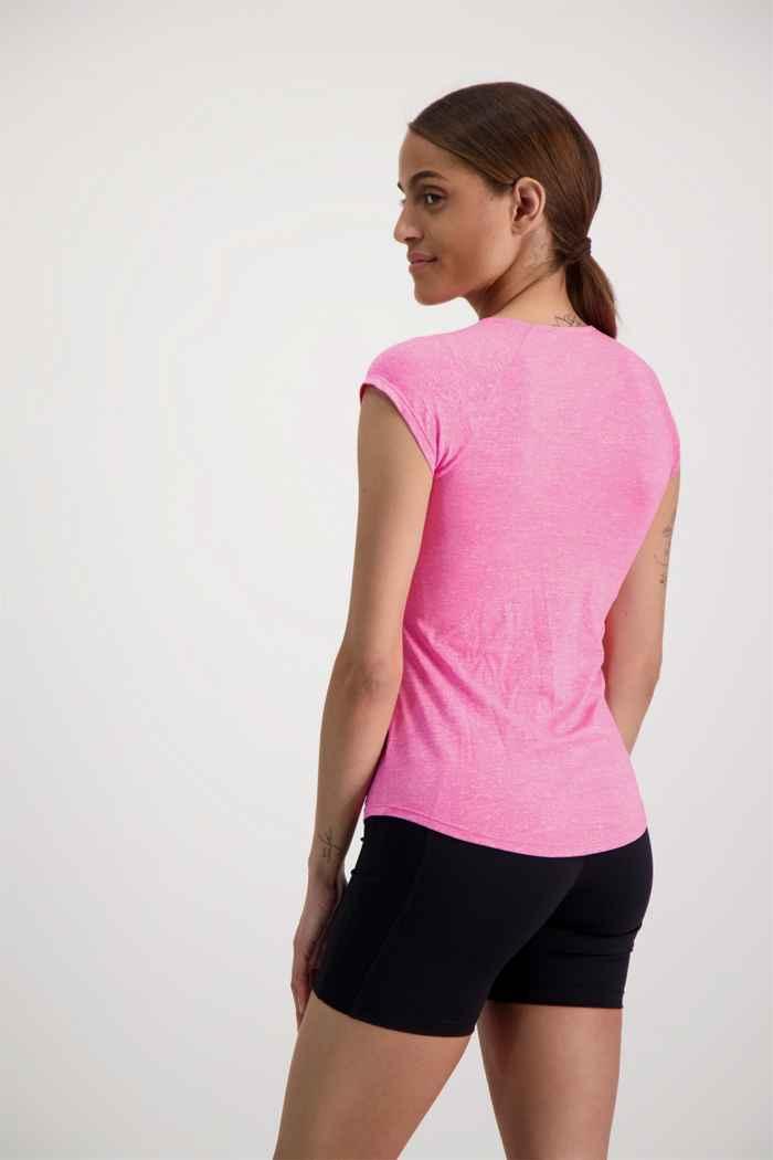 Powerzone t-shirt femmes Couleur Rose vif 2