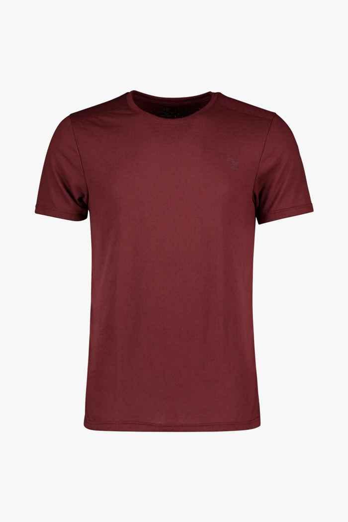Powerzone t-shirt hommes Couleur Bordeaux 1