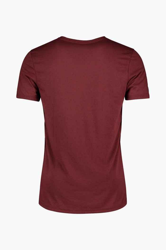 Powerzone t-shirt hommes Couleur Bordeaux 2