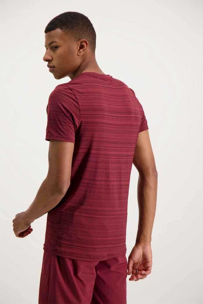 Powerzone t-shirt uomo Colore Bordeaux 2