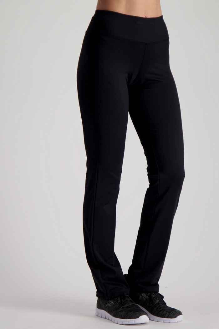Powerzone taille courte pantalon de sport femmes Couleur Noir 1