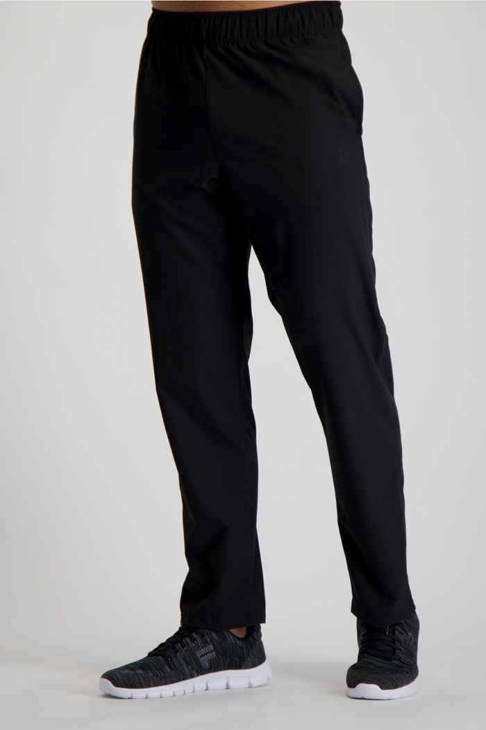 Powerzone taille longue pantalon de sport hommes Couleur Noir 1