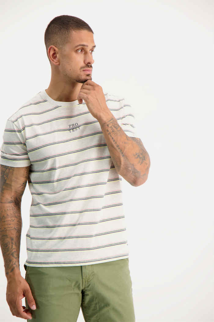 Protest Ceasar t-shirt hommes 1