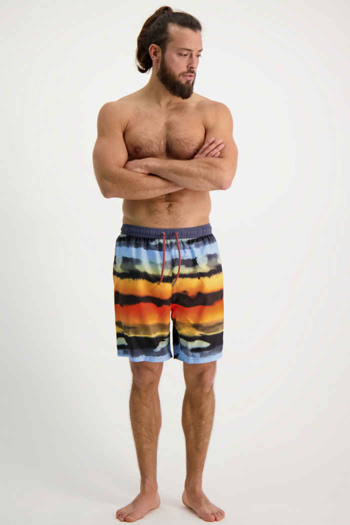 Protest Troy maillot de bain hommes Couleur Orange 1