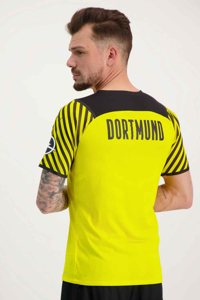 Puma Borussia Dortmund Authentic Herren Fussballtrikot 2