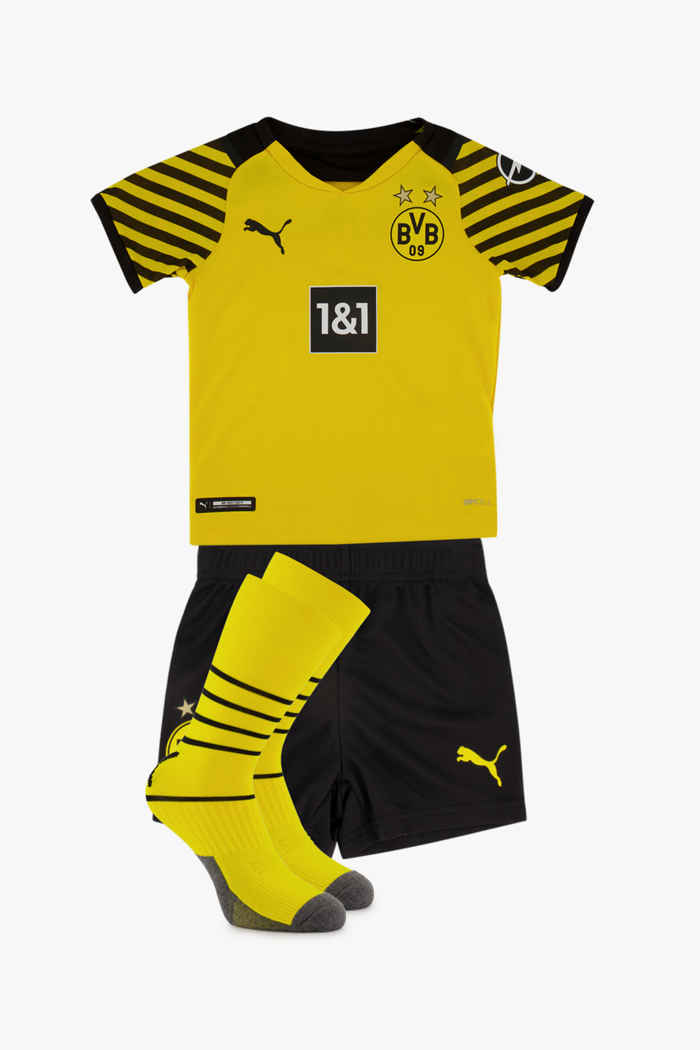 Puma Borussia Dortmund Home Replica Mini kit de football enfants 1