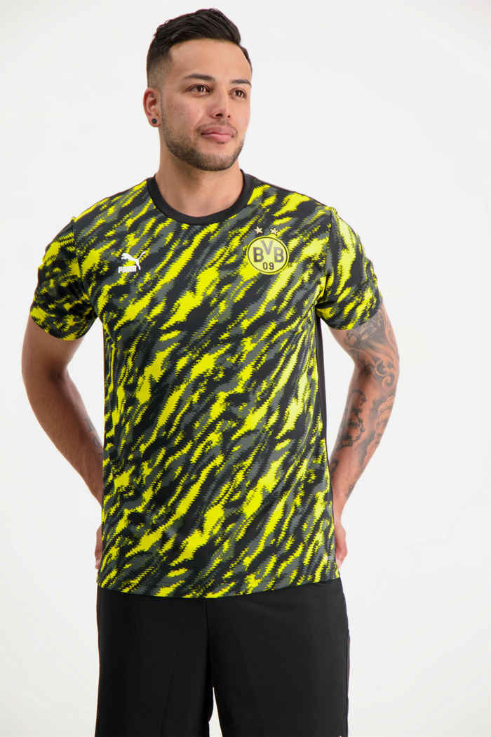 Puma Borussia Dortmund Iconic MCS Graphic t-shirt hommes 1