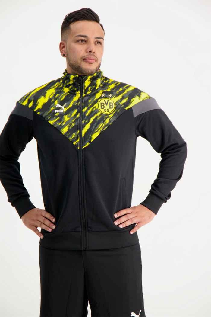 Puma Borussia Dortmund Iconic MCS Graphic veste de sport hommes 1