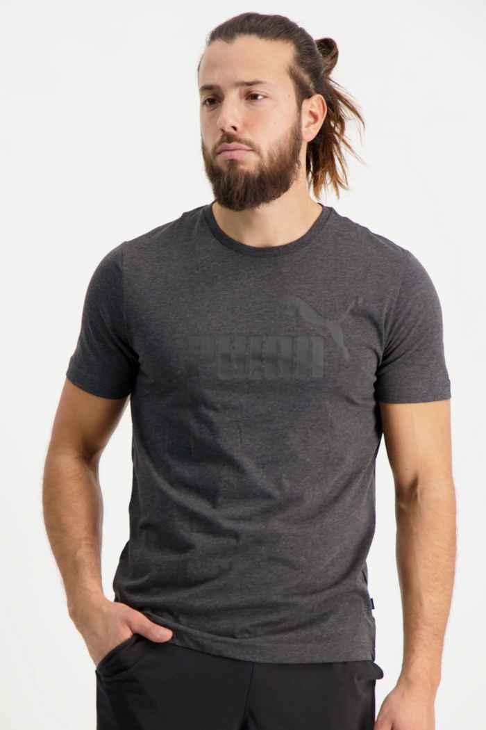 Puma ESS+ Heather Herren T-Shirt 1