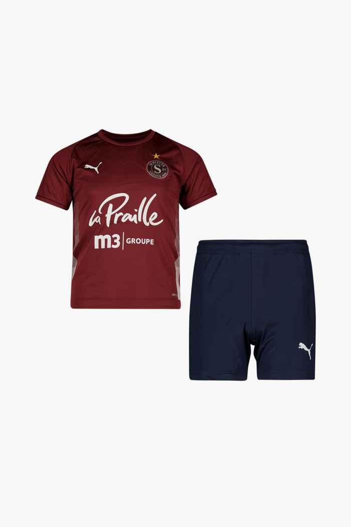 Puma FC Servette Home Replica kit de football enfants 1