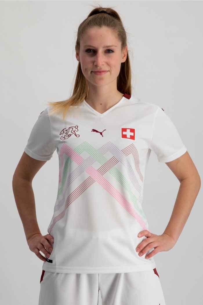 Puma Schweiz Away Replica Damen Fussballtrikot 1