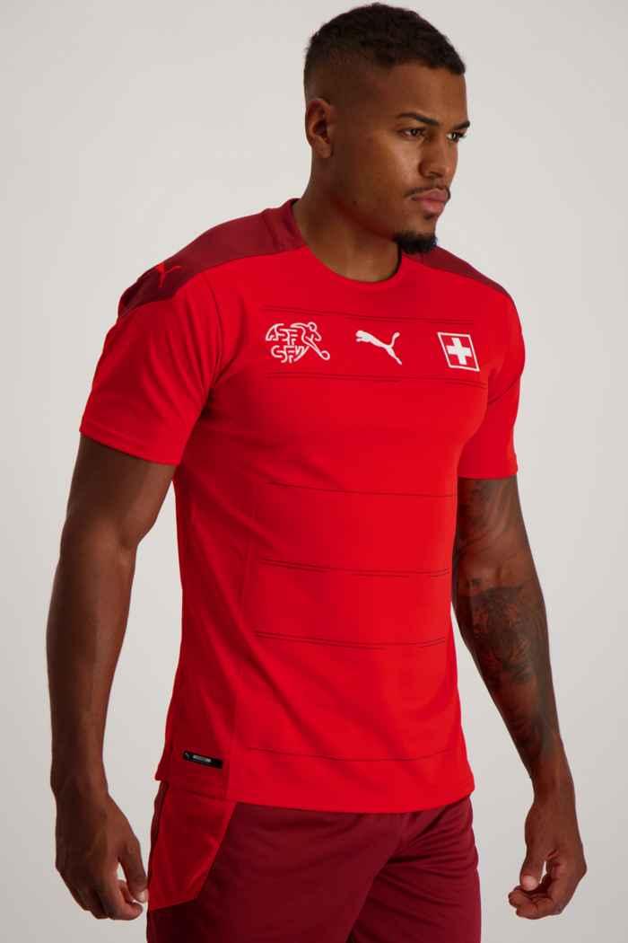 Puma Schweiz Home Replica Herren Fussballtrikot 1