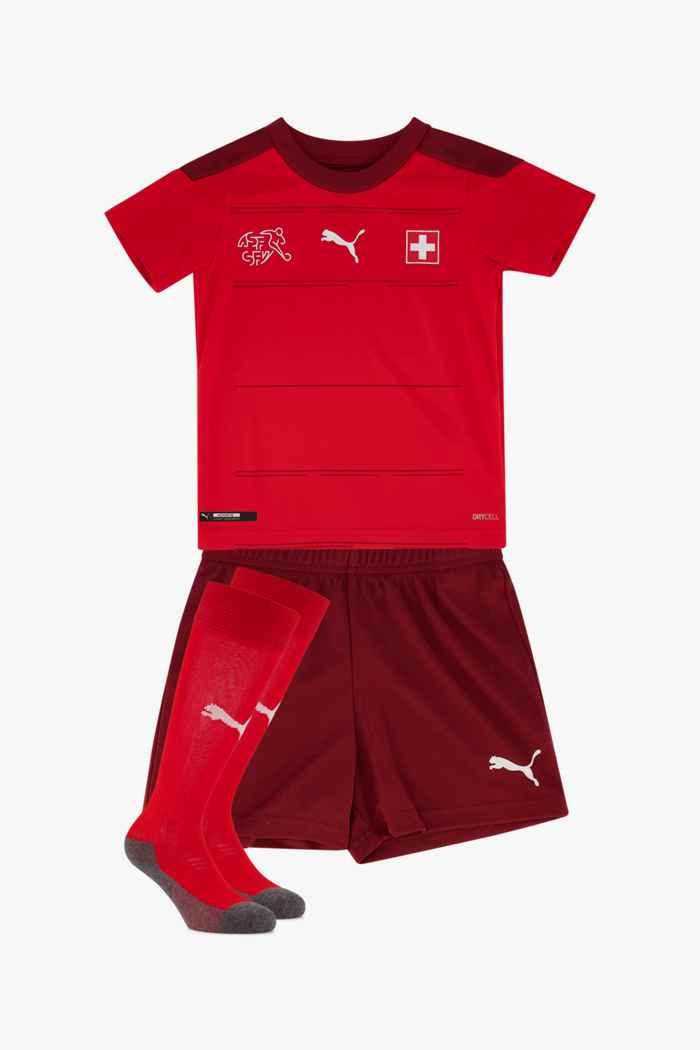 Puma Schweiz Home Replica Mini Kinder Fussballset 1
