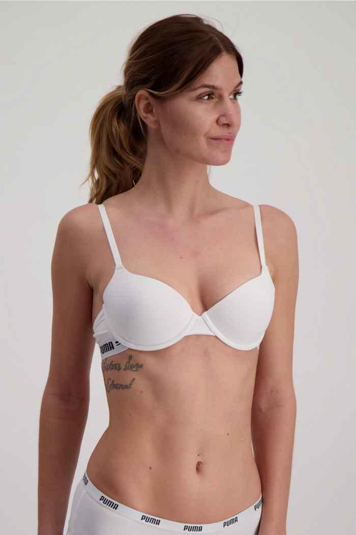 Puma T-Shirt soutien-gorge de sport femmes Couleur Blanc 1