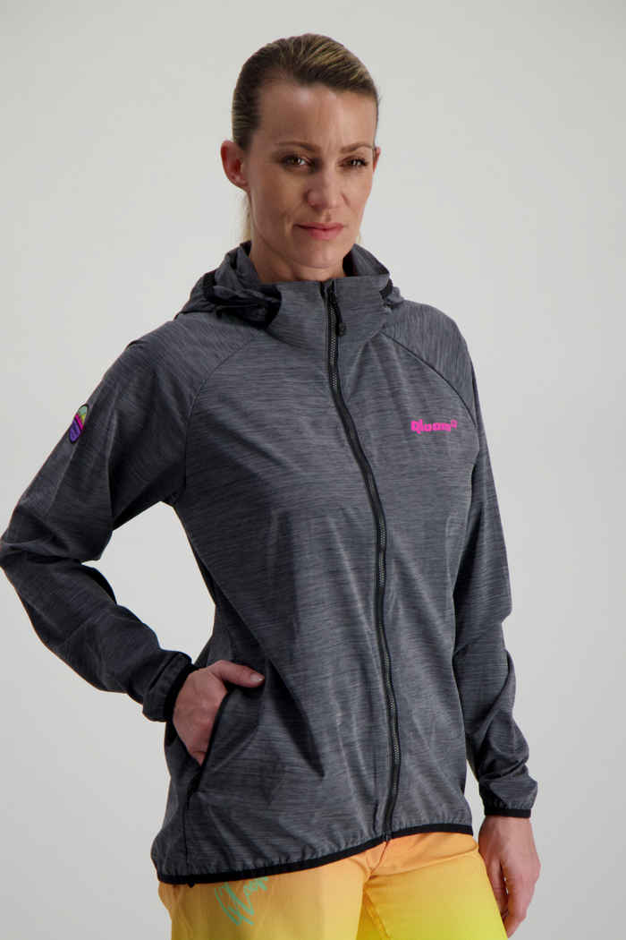 Qloom Cape Reveque veste de bike femmes 1