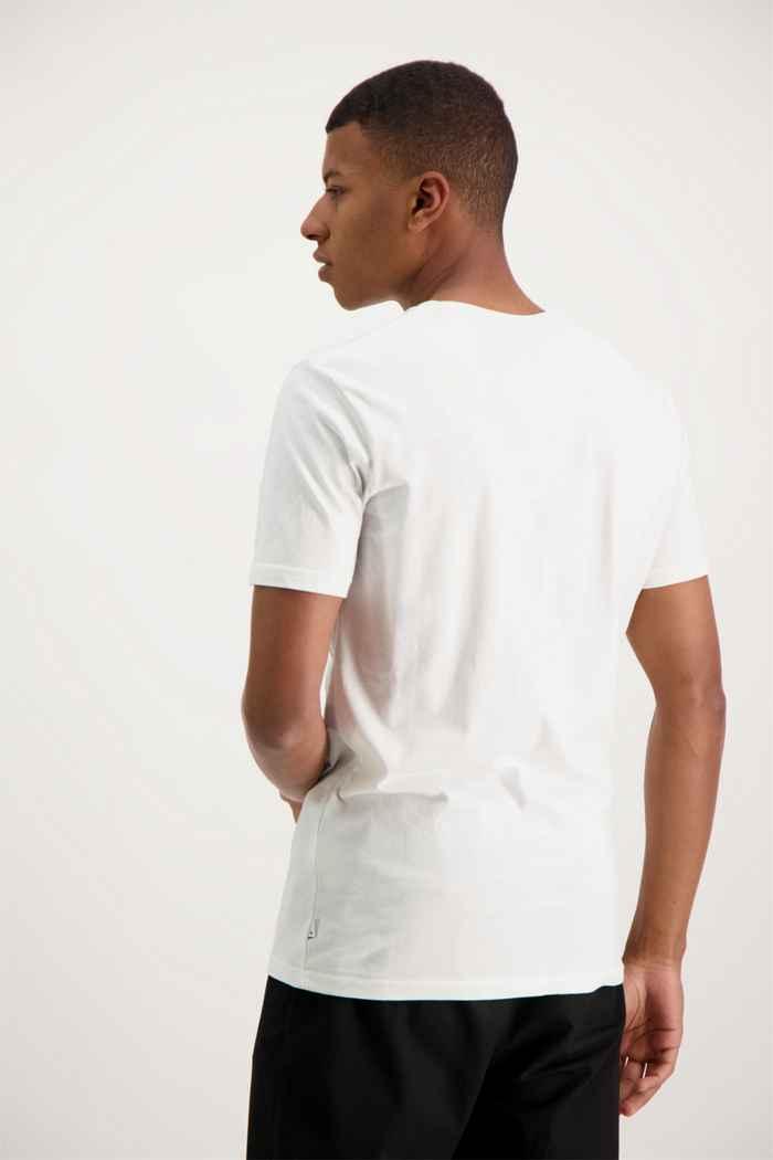 Quiksilver Basic Stripe t-shirt uomo Colore Bianco 2