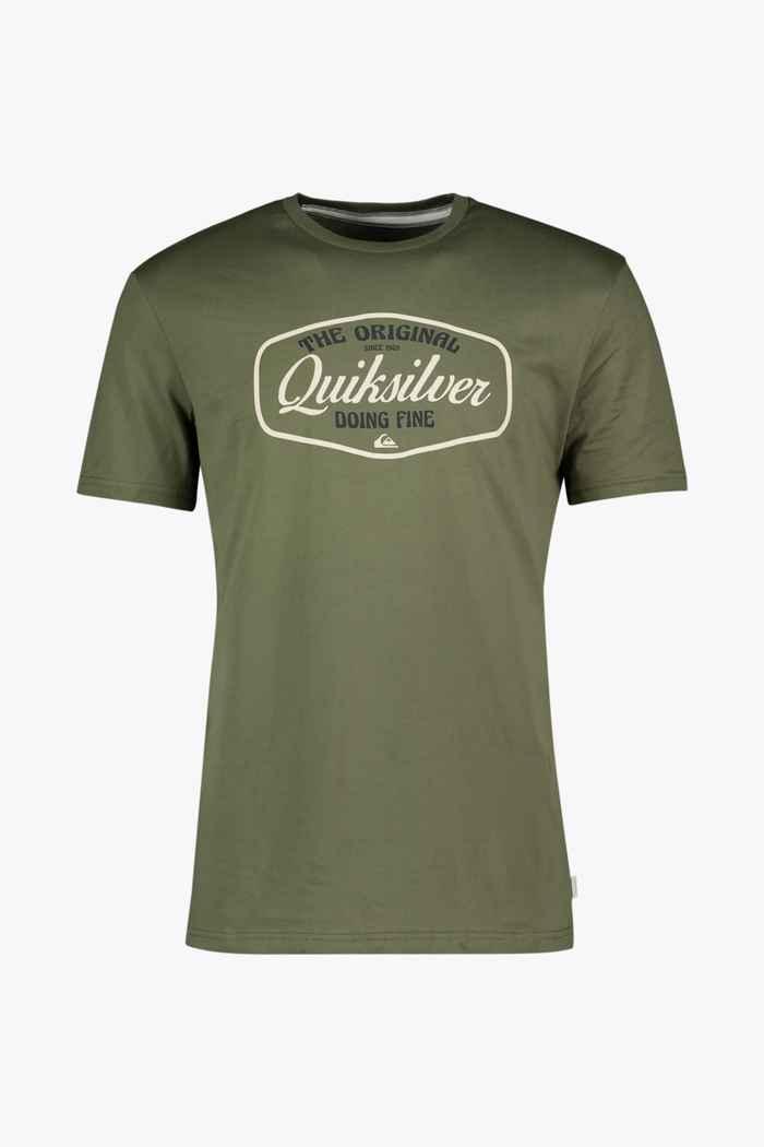 Quiksilver Cut To Now t-shirt hommes Couleur Olive 1