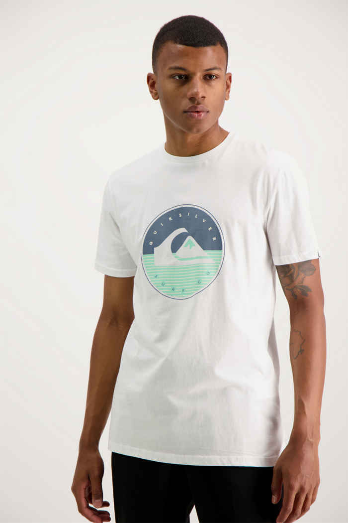 Quiksilver High Fusion t-shirt hommes Couleur Blanc 1