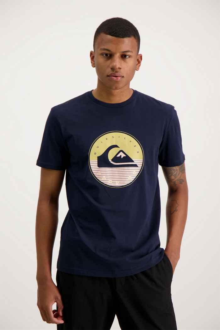 Quiksilver High Fusion t-shirt hommes Couleur Bleu navy 1