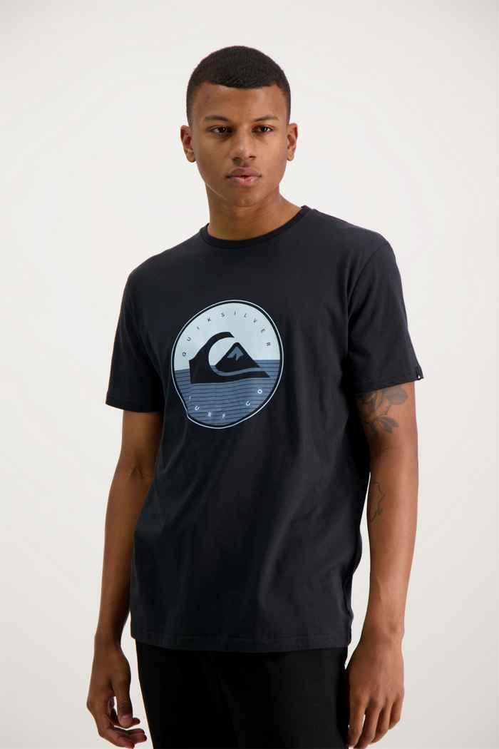 Quiksilver High Fusion t-shirt hommes Couleur Noir 1