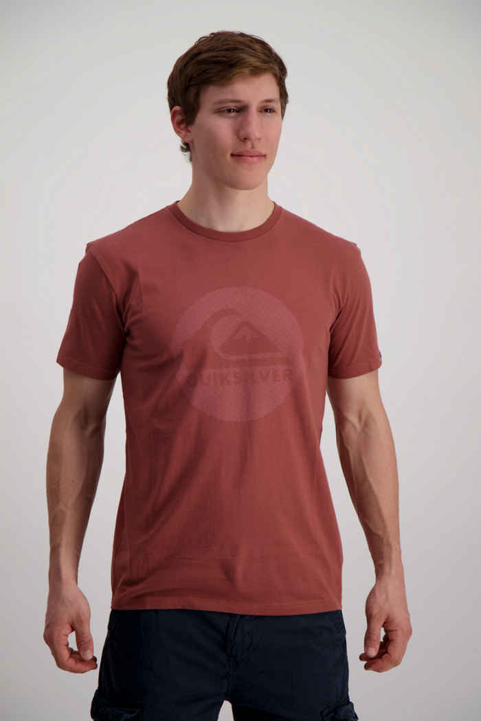 Quiksilver Quik Dreams Herren T-Shirt Farbe Rost 1