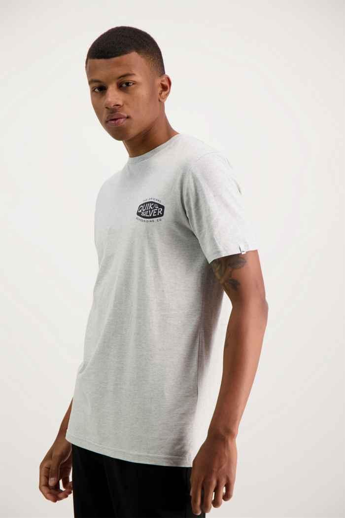 Quiksilver Sand Castles Herren T-Shirt Farbe Grau 1