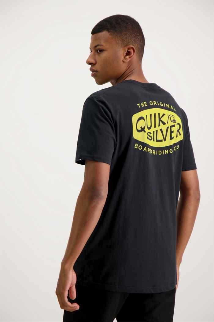 Quiksilver Sand Castles t-shirt hommes Couleur Noir 2