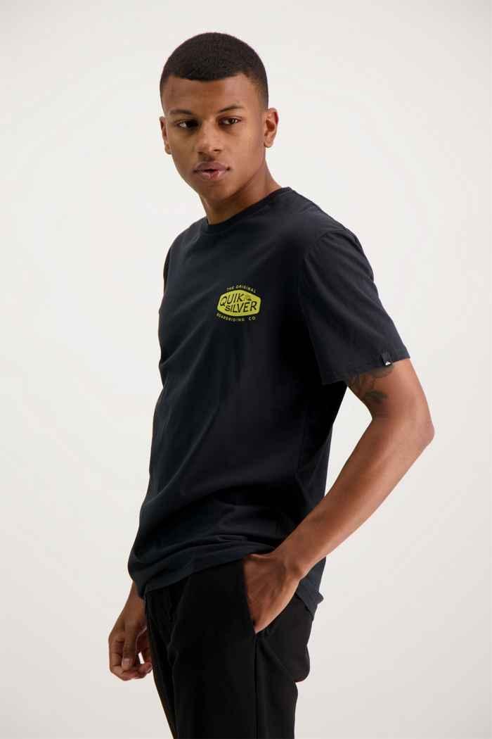 Quiksilver Sand Castles t-shirt uomo Colore Nero 1