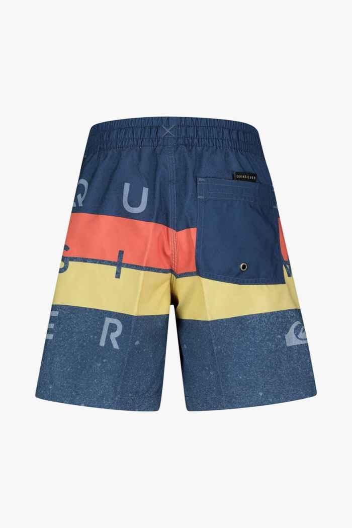 Quiksilver Word Block 15 Inch maillot de bain garçons Couleur Bleu 2