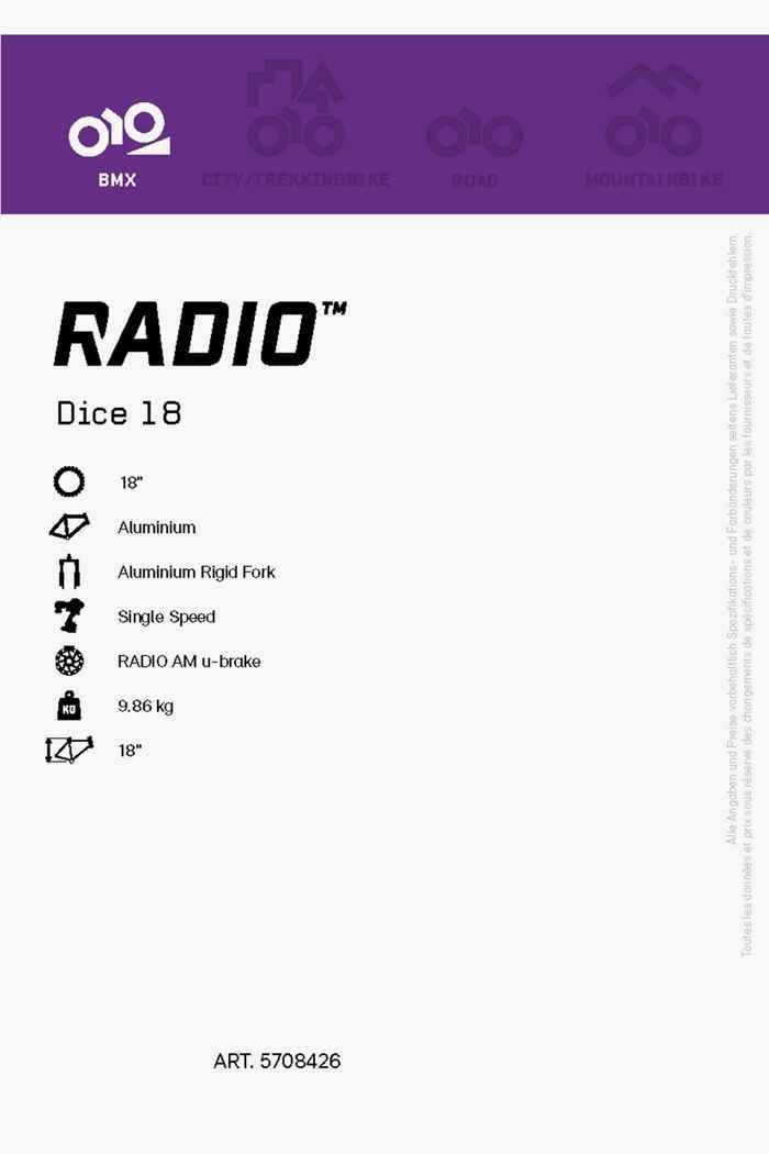 Radio Dice 18 BMX 2021 2