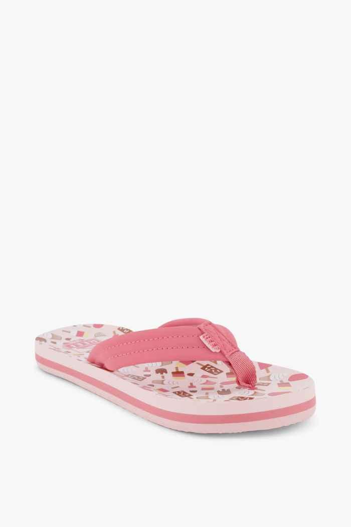 Reef Ahi infradito bambina Colore Rosa 1