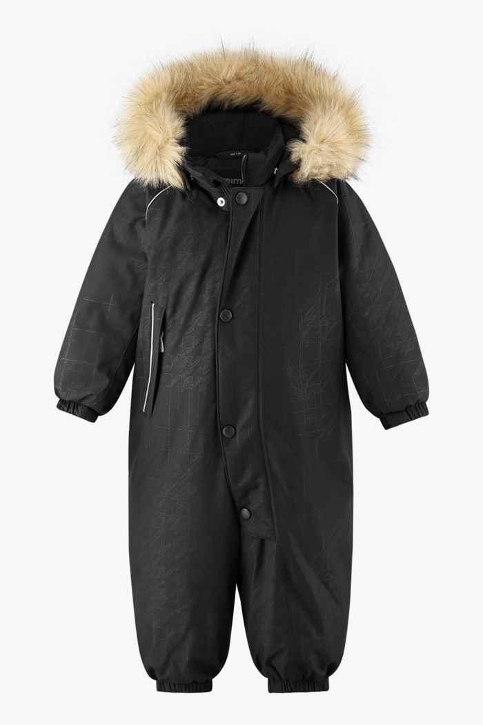 Reima Aapua Kleinkind Skioverall Farbe Schwarz 1