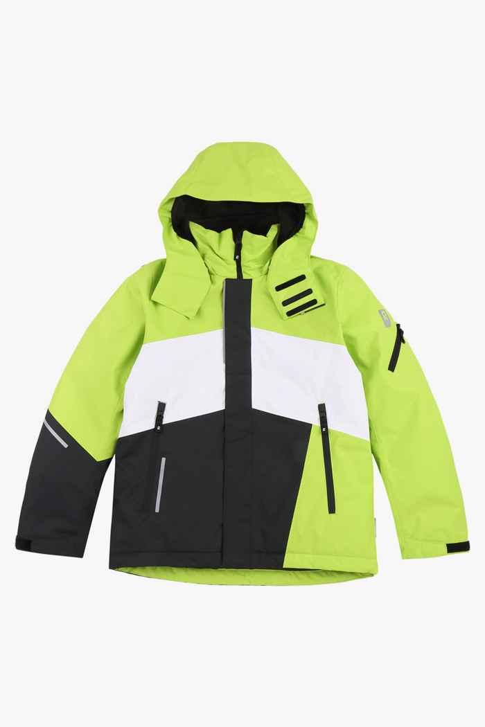 Reima Laks Jungen Skijacke Farbe Grün 1