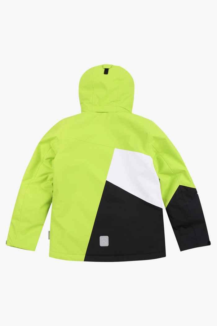 Reima Laks Jungen Skijacke Farbe Grün 2