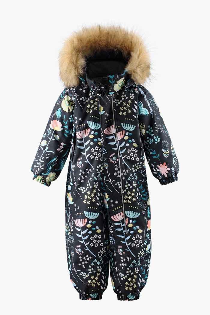 Reima Lappi Kleinkind Skioverall Farbe Schwarz-multicolor 1