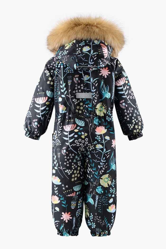 Reima Lappi Kleinkind Skioverall Farbe Schwarz-multicolor 2