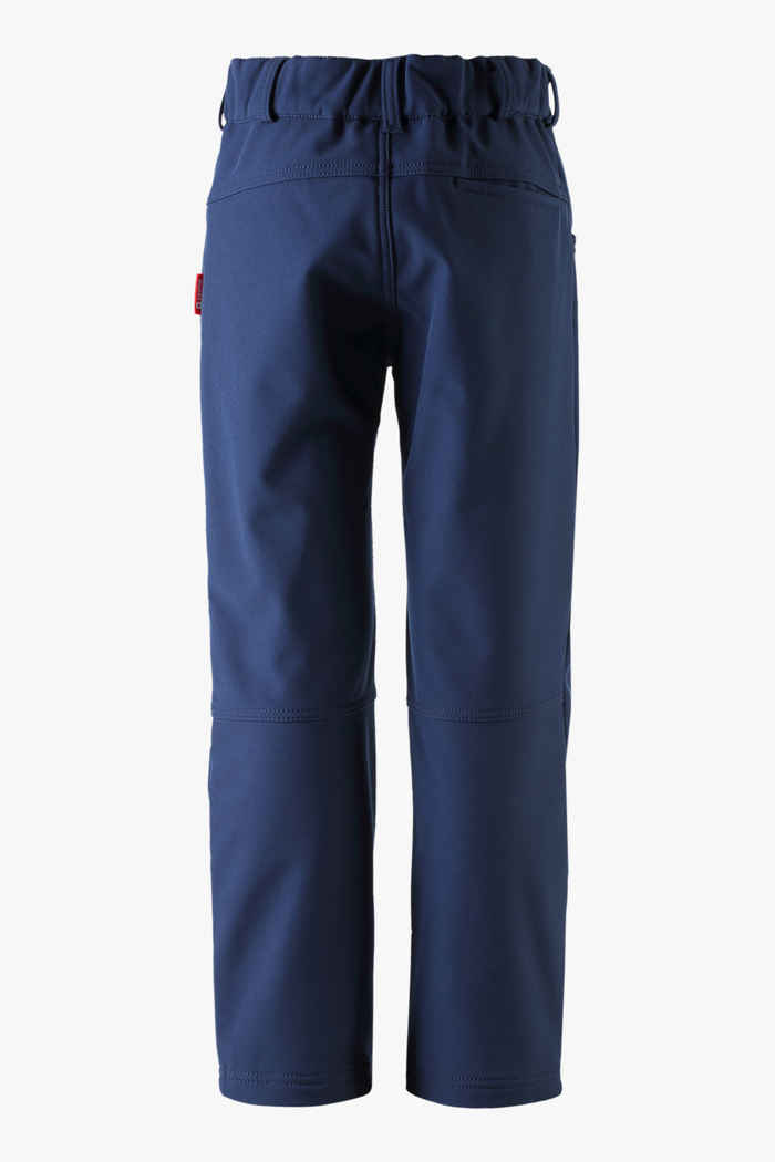 Reima Mighty Mini pantalon en softshell enfants Couleur Bleu navy 2