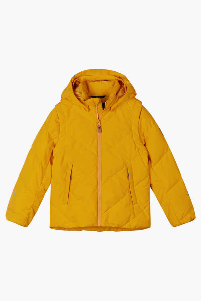 Reima Porosein Kinder Daunenjacke Farbe Gelb 1