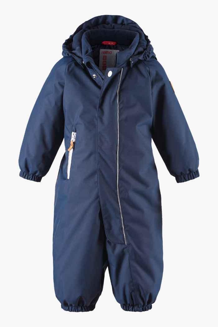 Reima Puhuri combinaison de ski jeune enfant Couleur Bleu navy 1