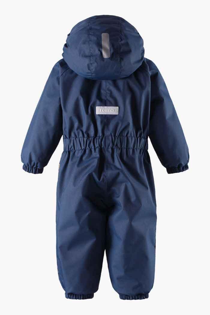 Reima Puhuri combinaison de ski jeune enfant Couleur Bleu navy 2