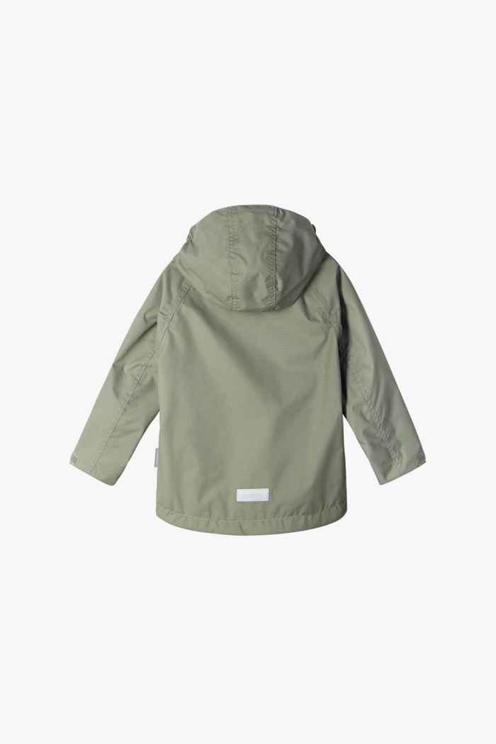 Reima Soutu Kinder Regenjacke Farbe Khaki 2