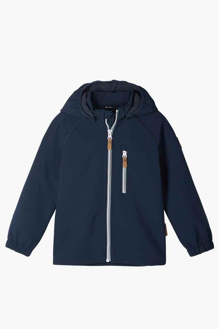 Reima Vantti Mini veste softshell enfants Couleur Bleu navy 1
