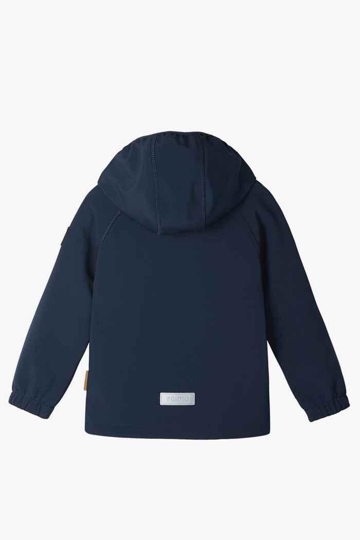 Reima Vantti Mini veste softshell enfants Couleur Bleu navy 2