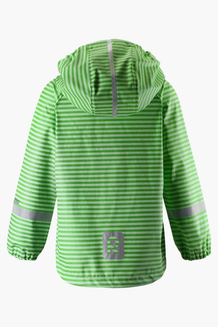 Reima Vesi Mini Kinder Regenjacke Farbe Grün 2