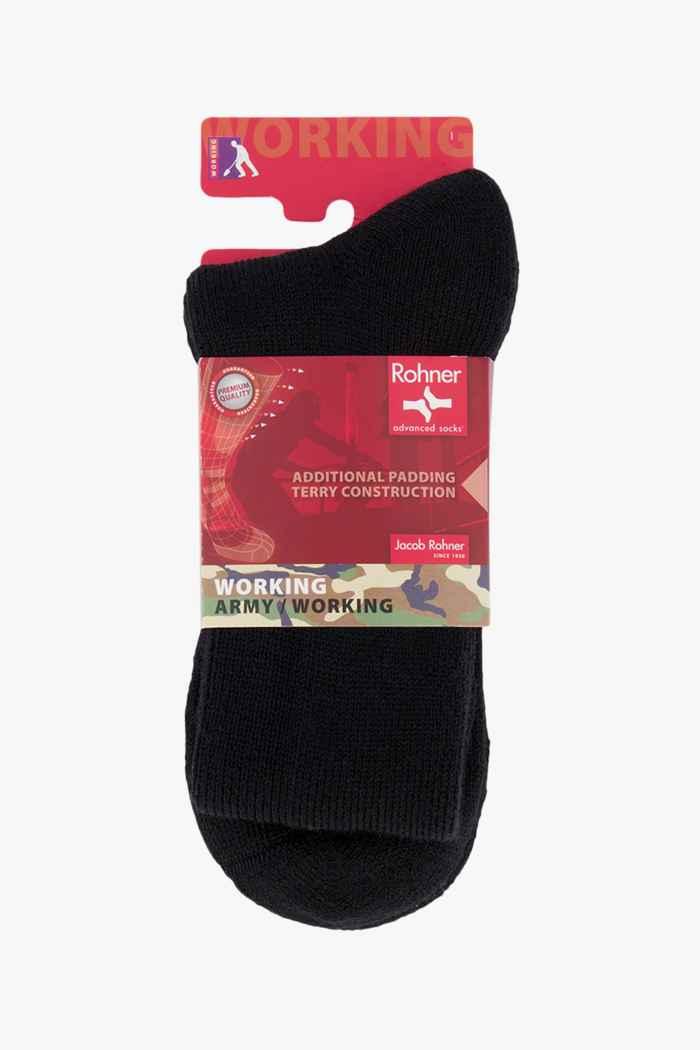 Rohner Swiss Army 39-41 chaussettes hommes Couleur Noir 1